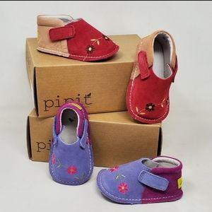 """🆕 Pipit """"Apricot/Carmel"""" Infant Shoes"""
